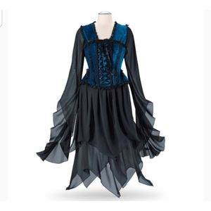 THE PYRAMID COLLECTION Corset Gothic DressMedieval